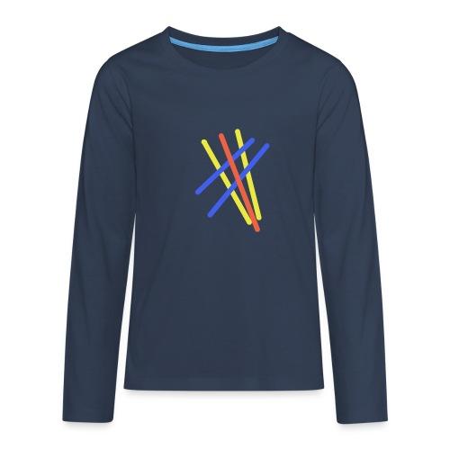 Abstrakte Malerei - Teenager Premium Langarmshirt
