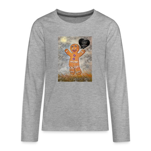 Petit biscuit pour veiller sur vos enfants ☺ - T-shirt manches longues Premium Ado