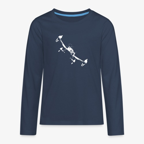 quadflyby2 - Teenagers' Premium Longsleeve Shirt