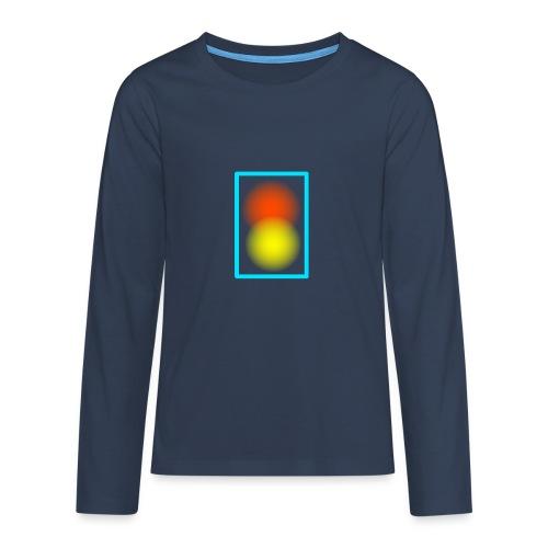Abstrakt - Teenager Premium Langarmshirt