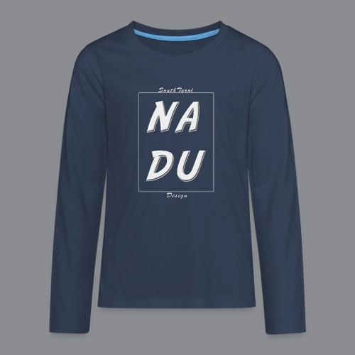 Na DU? - Teenager Premium Langarmshirt