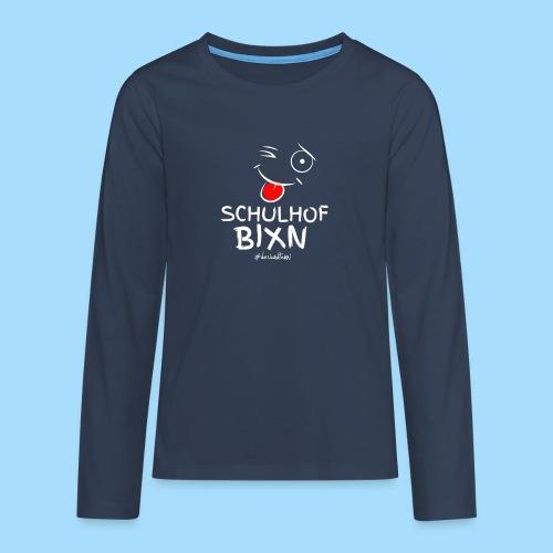 Schulhofbixn - Teenager Premium Langarmshirt