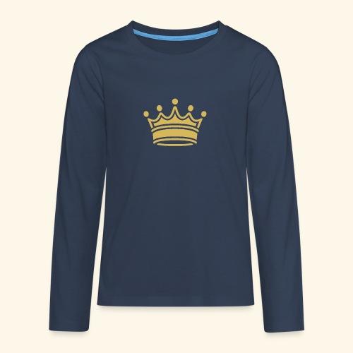crown - Teenagers' Premium Longsleeve Shirt