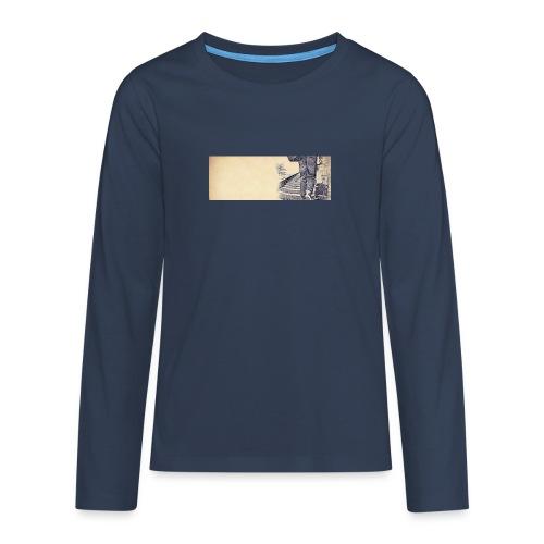 solo.pigion - T-shirt manches longues Premium Ado