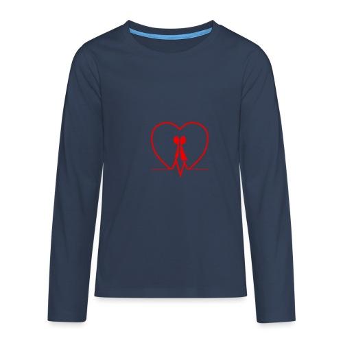 Amarsi un pò... RED - Maglietta Premium a manica lunga per teenager