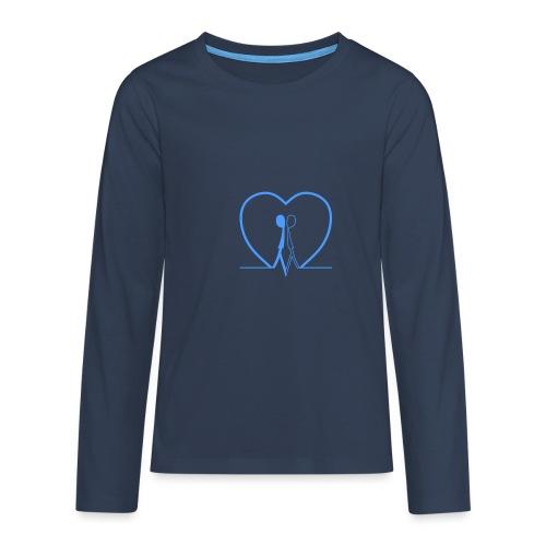 Non aver paura dell'uguaglianza Man man LIGHT BLUE - Maglietta Premium a manica lunga per teenager