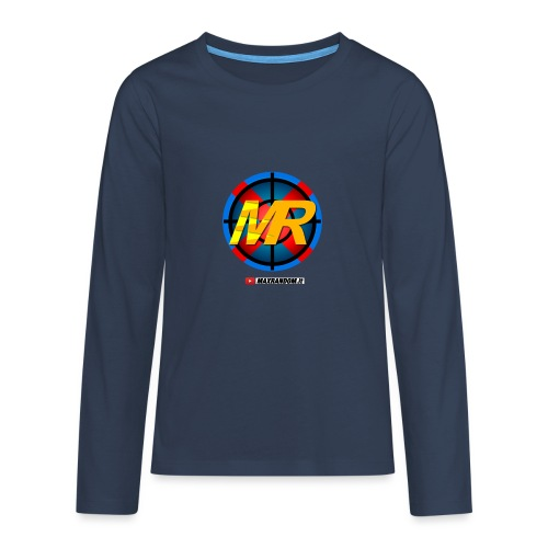 Logo MR - Maglietta Premium a manica lunga per teenager