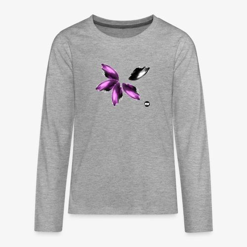 Sembran petali ma è l'aurora boreale - Maglietta Premium a manica lunga per teenager