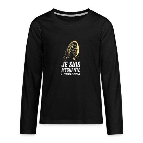 Tshirt Femme - T-shirt manches longues Premium Ado