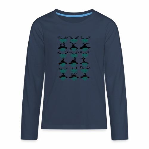 Trachtenrockabilly - Teenager Premium Langarmshirt