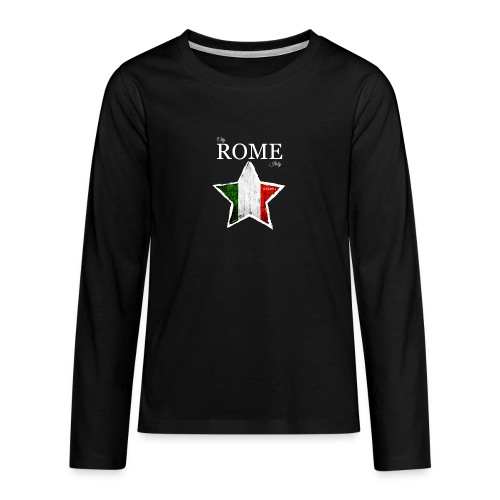 ROME - Teenagers' Premium Longsleeve Shirt