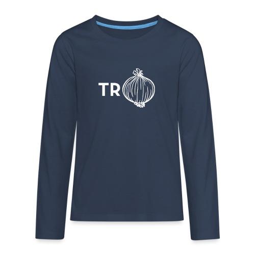 Trui met ui - Teenager Premium shirt met lange mouwen