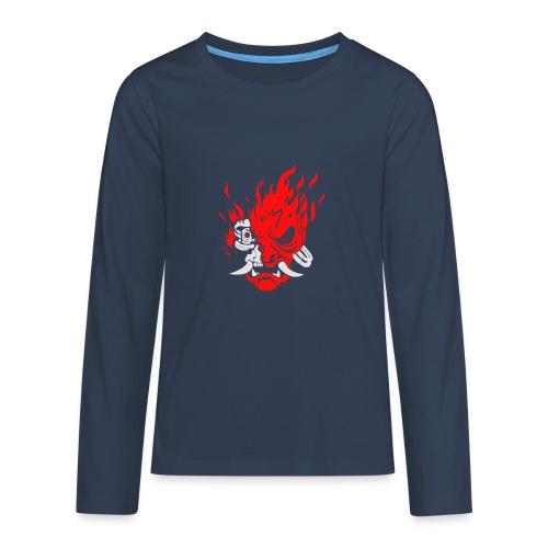 Cyberpunk2077 - Teenagers' Premium Longsleeve Shirt