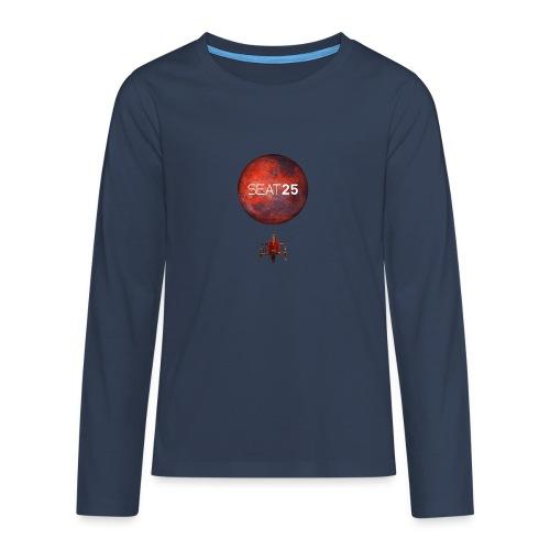 Faye and Mars - Teenagers' Premium Longsleeve Shirt