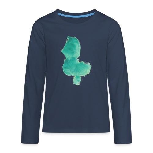 grünes Küken - Teenager Premium Langarmshirt