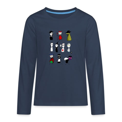 Bad to the bone - Teenagers' Premium Longsleeve Shirt