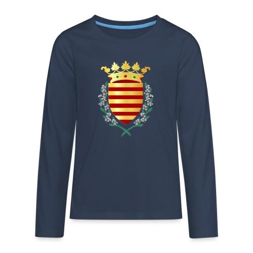 Wapenschild Borgloon - Teenager Premium shirt met lange mouwen
