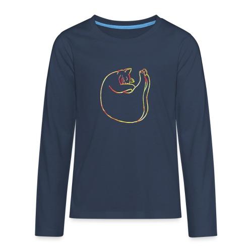 Schmusekatze - Teenager Premium Langarmshirt