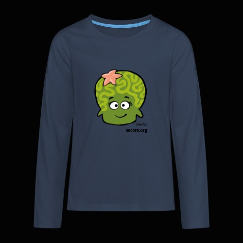 Samy Smart - Teenagers' Premium Longsleeve Shirt
