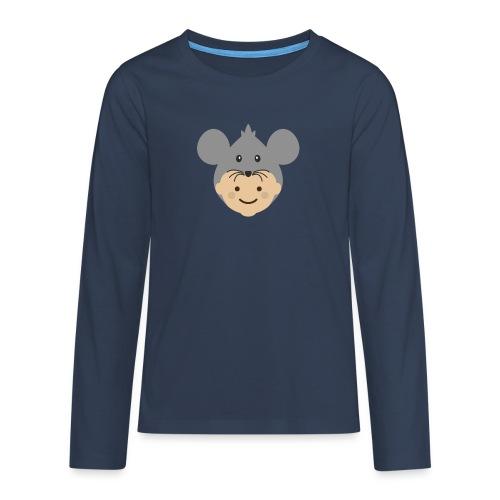 Mr Mousey | Ibbleobble - Teenagers' Premium Longsleeve Shirt