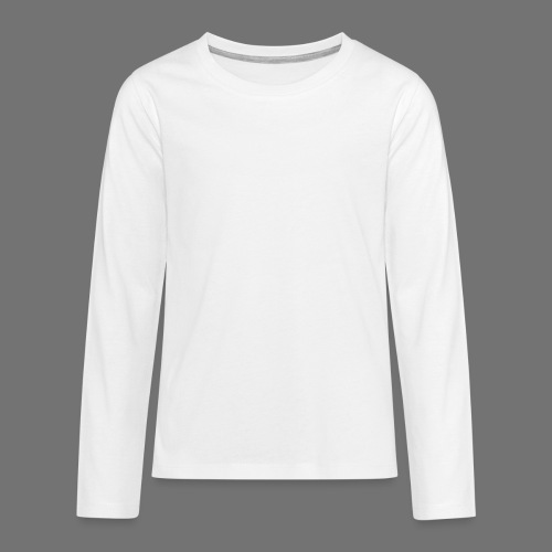 Fingerprint DNA (white) - Teenagers' Premium Longsleeve Shirt