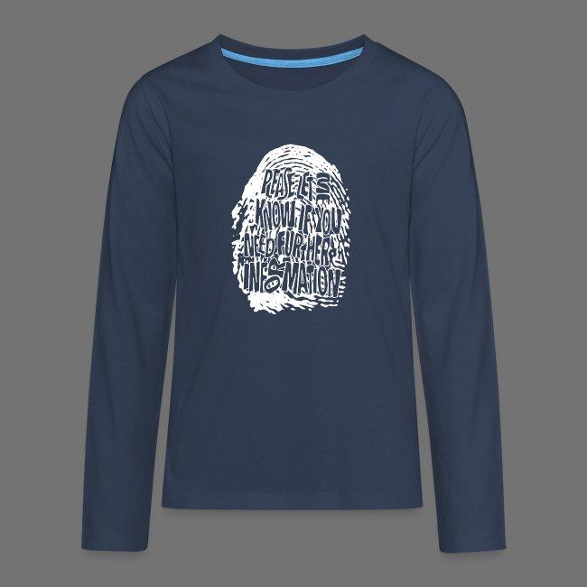 Fingerprint DNA (white)