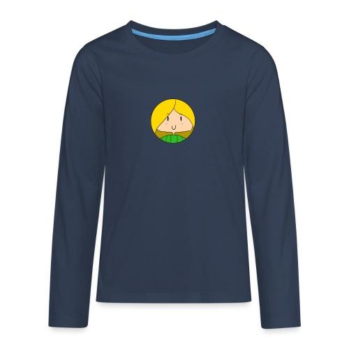 fille blonde - T-shirt manches longues Premium Ado