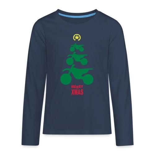 Merry Christmas - Frohe Weihnachten - Teenagers' Premium Longsleeve Shirt