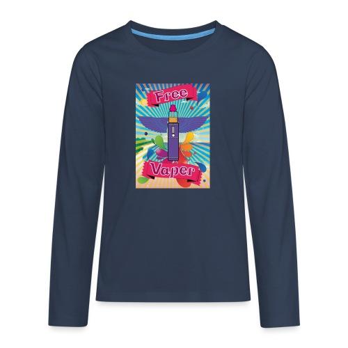 hawai png - T-shirt manches longues Premium Ado