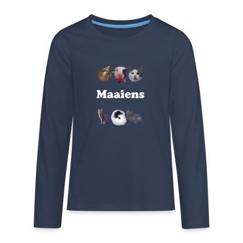 Maaiens! - Teenager Premium shirt met lange mouwen