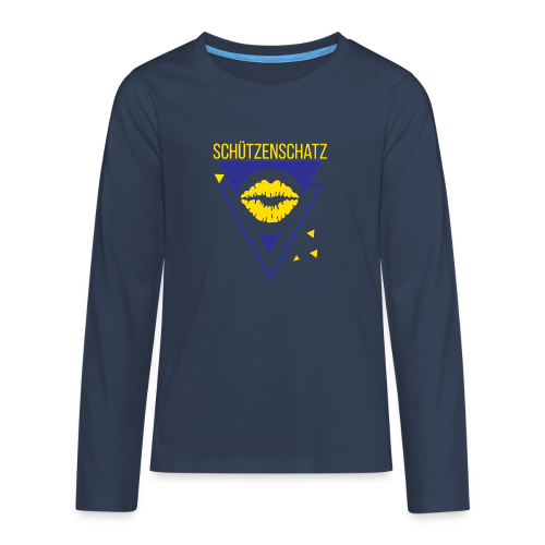 Schützenschatz - Teenager Premium Langarmshirt