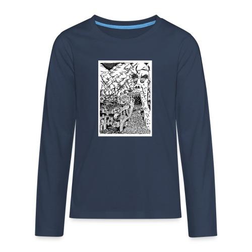Sea Monsters T-Shirt by Backhouse - Teenagers' Premium Longsleeve Shirt