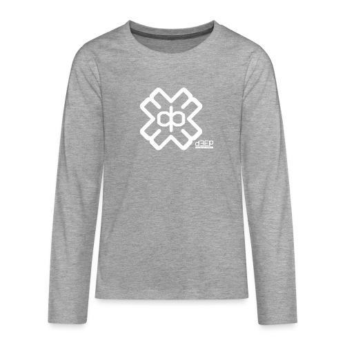 July D3EP Blue Tee - Teenagers' Premium Longsleeve Shirt