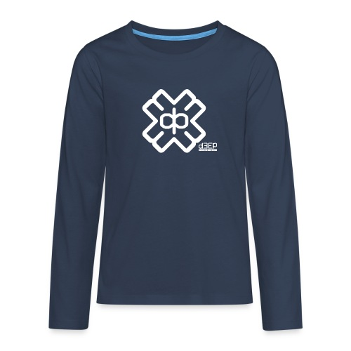 July D3EP Blue Tee - Teenagers' Premium Longsleeve Shirt