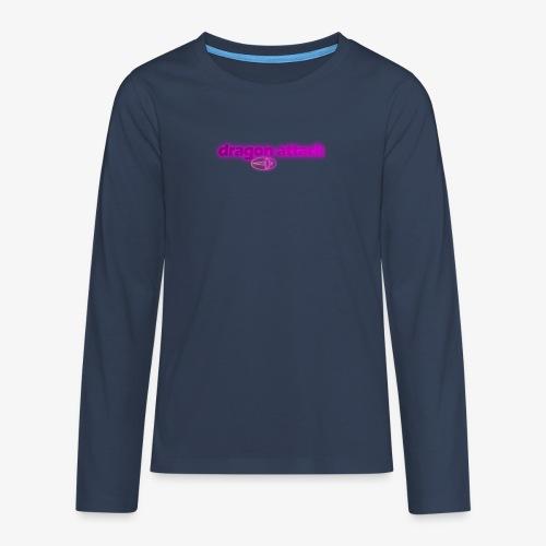 Dragon Attack violett - Teenager Premium Langarmshirt