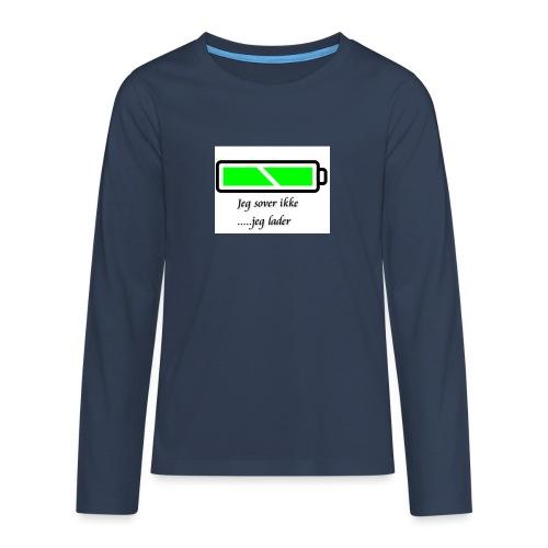 lader_2 - Premium langermet T-skjorte for tenåringer