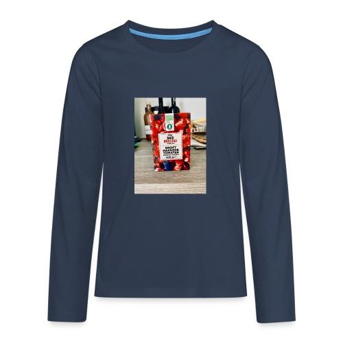 Tomato - Teenager premium T-shirt med lange ærmer