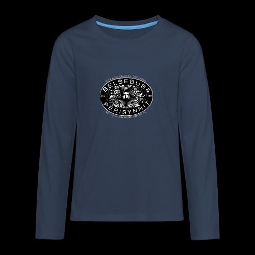 Belsebub&Perisynnit - Teinien premium pitkähihainen t-paita