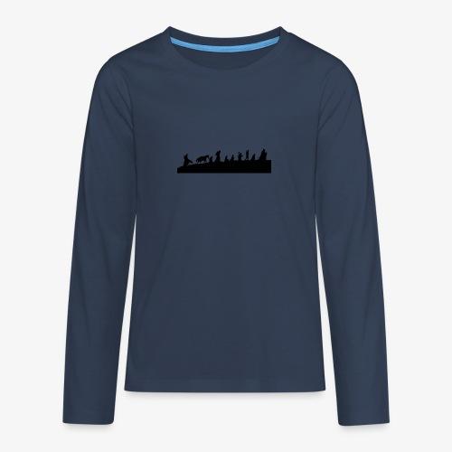 The Fellowship of the Ring - Teenagers' Premium Longsleeve Shirt