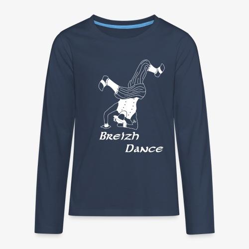 BZH Atypik Design - Breizh Dancer - T-shirt manches longues Premium Ado