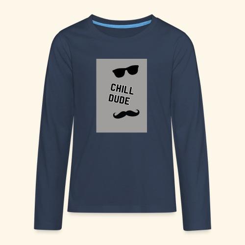 Cool tops - Teenagers' Premium Longsleeve Shirt