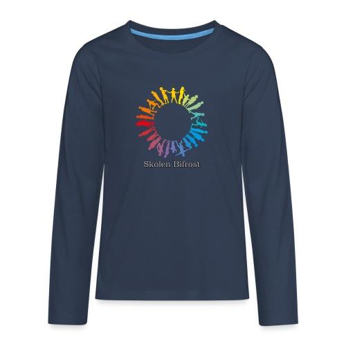 Skolen Bifrost - Teenager premium T-shirt med lange ærmer