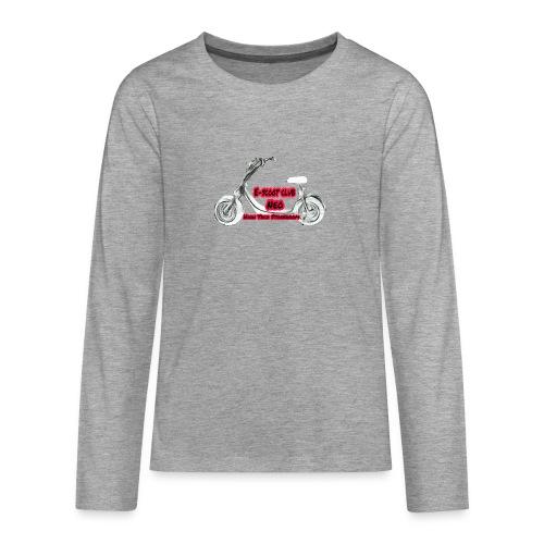 Neorider Scooter Club - T-shirt manches longues Premium Ado