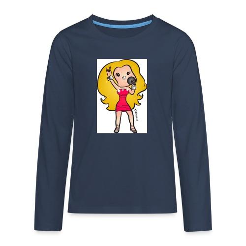 celine - Teenager Premium shirt met lange mouwen