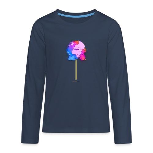 TShirt lollipop world - T-shirt manches longues Premium Ado