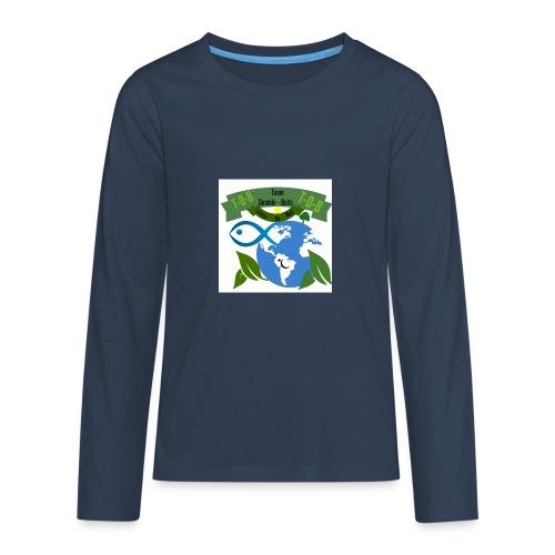 logo dumble baits - T-shirt manches longues Premium Ado