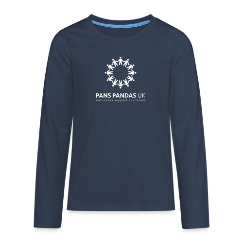 PANS PANDAS MULTI LOGO - Teenagers' Premium Longsleeve Shirt