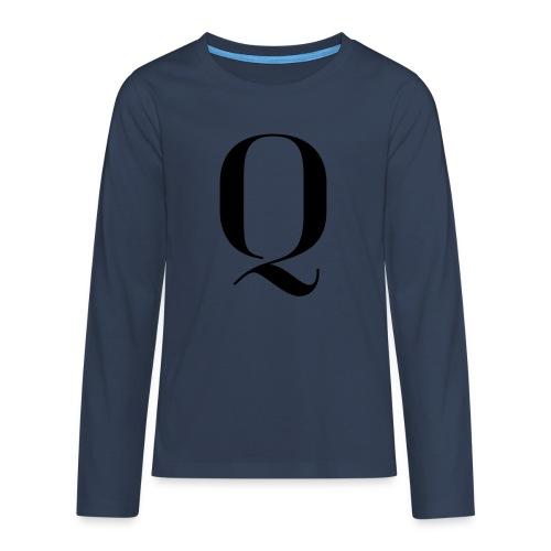 Q - Teenagers' Premium Longsleeve Shirt
