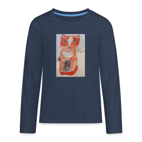 fox - Teenagers' Premium Longsleeve Shirt
