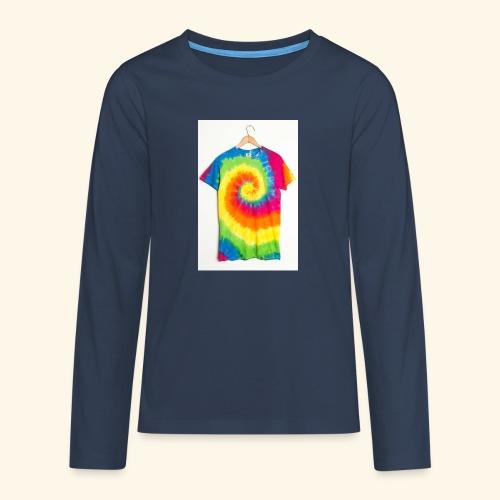 tie die - Teenagers' Premium Longsleeve Shirt